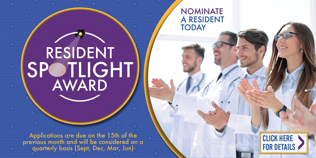 Resident Spotlight Awards