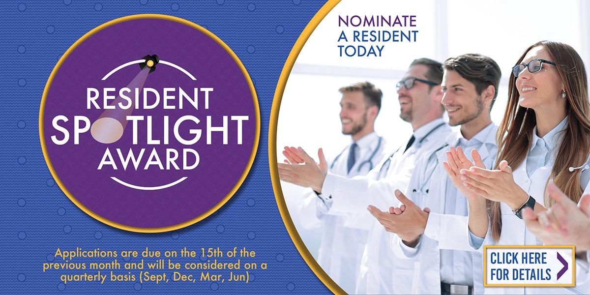 Resident Spotlight Awards